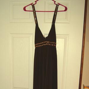 Tracy Reese Chocolate Maxi Dress
